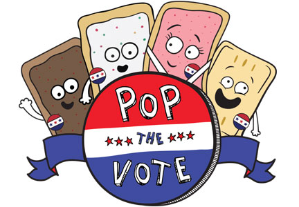 Kellogg's Pop the Vote Pop Tarts