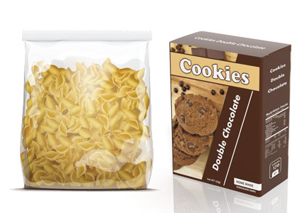 Private label products, generic pasta, generic cookies