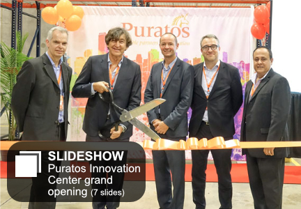 Puratos Innovation Center grand opening
