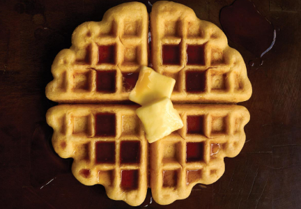 Pea protein may work in such grain-based foods as waffles.