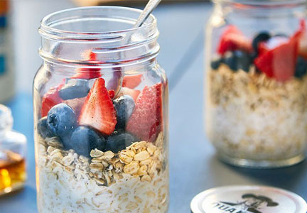 Quaker, Chef'd Overnight Oats