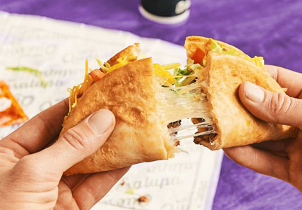Taco Bell Quesalupa, Yum! Brands