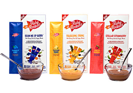 Ruby Rocket's yogurt tubes