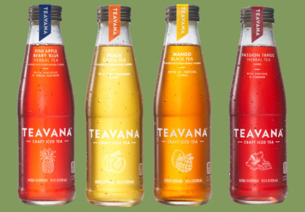 Starbucks Teavana Craft Iced Teas