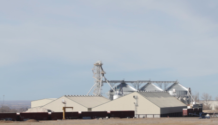 Scoular's newly acquired grain and storage facility from  Northside Development Holding Co.