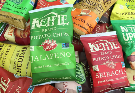 Kettle Brand potato chips, Diamond Foods, Snyder's-Lance