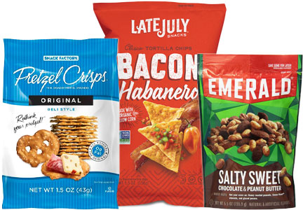 Snyder's-Lance company acquisitions: Snack Factory, Late July, Diamond Foods