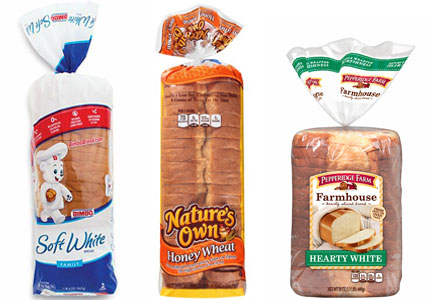 Bimbo Bakeries, Flowers Foods, Campbell Soup Pepperidge Farm bread