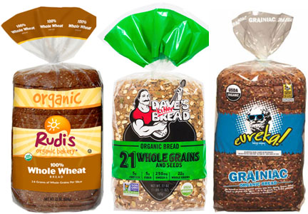 Organic bread brands