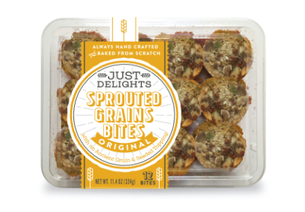 Just Desserts Just Delights Sprouted Grain Bites