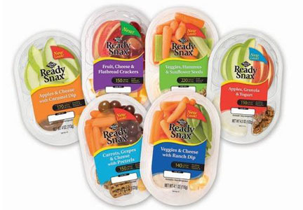 Single serve fruits and vegetables