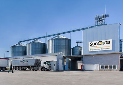 SunOpta sunflower seed processing facility