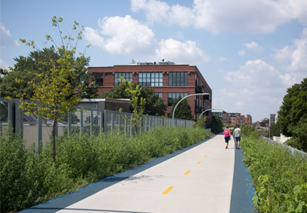 The 606 Trail in Chicago