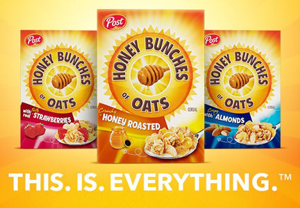 Honey Bunches of Oats This. Is. Everything. campaign