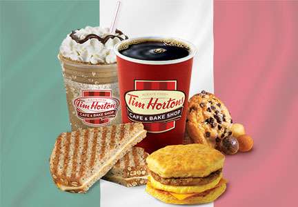 Tim Hortons in Mexico