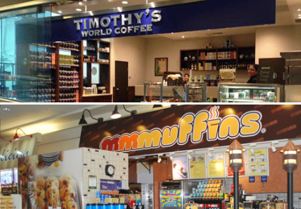 Timothy's World Coffee and Mmmuffins