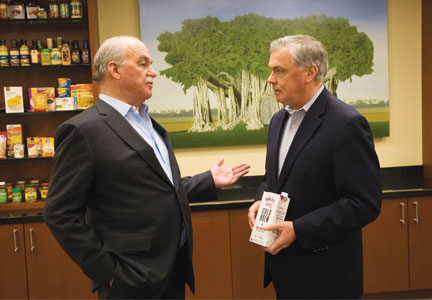 Sam K. Reed and Dennis Riordan, TreeHouse Foods