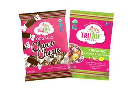 TruSweets TruJoy organic fair-trade candies