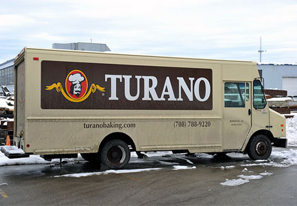 Turano Baking Co. delivery truck - Indianapolis