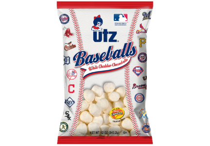 Utz MLB snacks