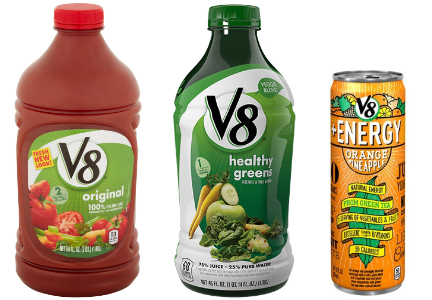Campbell Soup V8 beverages