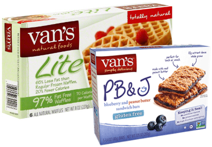 Van's waffles and snack bars, Tyson