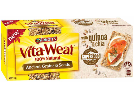 Campbell Soup Arnott's Vita-Wheat ancient grains and seeds crackers