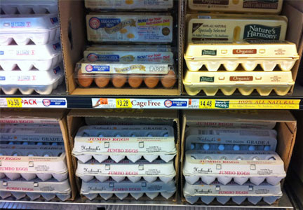 Wal-Mart cage-free eggs