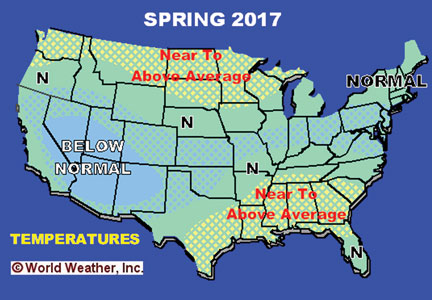Spring 2017 weather