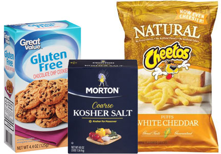 Top 3 wellness claims: Kosher, gluten-free, natural