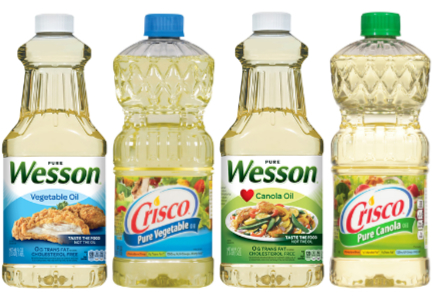 Wesson and Crisco oils