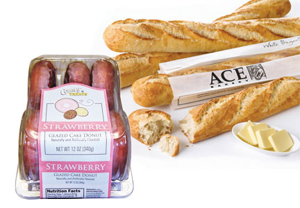 Weston Foods donuts, ACE Bakery bread