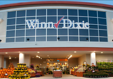 Winn Dixie grocery store front