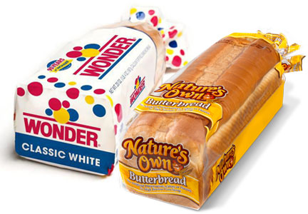 Wonder bread and Nature's Own bread, Flowers Foods