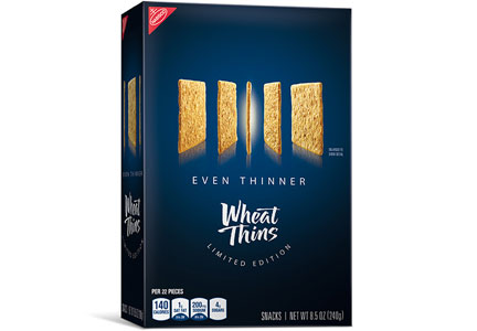 Wheat Thins Even Thinner