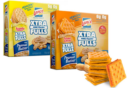 Lance Xtra Fulls cracker sandwiches
