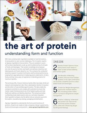 Agropur Art of Protein